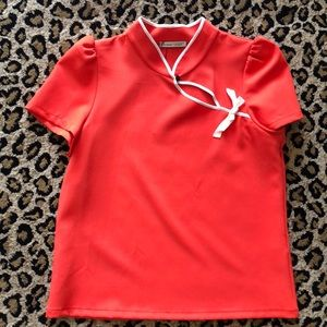 NWT Zara Asian inspired top